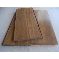Quality Carbonized Strand Woven Bamboo Flooring, Click lock for sale