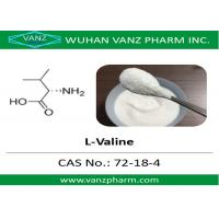 Quality 99 HPLC amino acid cas 72-18-4 l-valine Natural Health Supplements for sale