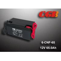 Quality 65AH Valve Regulated Lead Acid Battery Rechargeable , Long Time Undercharge 12v Vrla Battery for sale