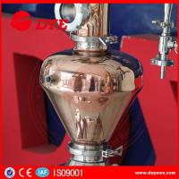 Buy Home used copper distillation towers whisky brandy distillers wine on sale at wholesale prices