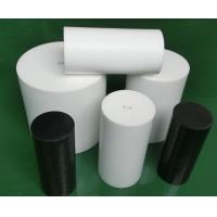 Quality Natural White Virgin Molded PTFE Rod Self Lubricating With High Performance for sale