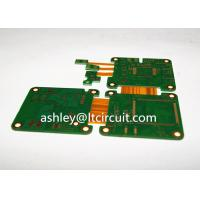 Quality Multilayer Mix Rigid Flexible PCB L2-18 Gold Plating Blind / Burried Vias for sale
