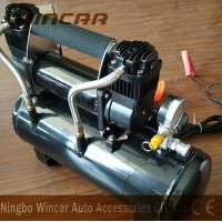 Buy Double 30mm Cyclinder 12V Portable Air Compressor 8 Bar Max Pressure at wholesale prices