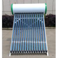 Quality Solar Electric Water Heater 150L , Solar Thermal Hot Water Heater No Pumps for sale