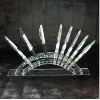 Quality Acrylic crystal detachable E cig display stand, showing stand, show shelf for sale