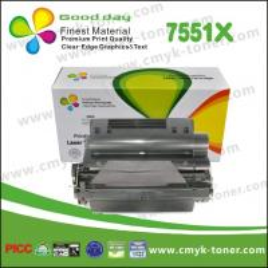 Quality Black Q7551X Toner Cartridge compatible with  HP LaserJet - P3005 for sale