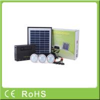 China Wholesale 4W 11V lithium battery with LED bulbs lighting system home solar kit on sale