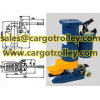 Buy cheap Lower toe jack with safety valve for overload protection from wholesalers