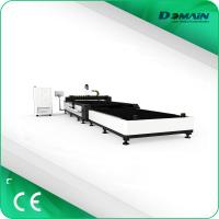 China High Speed Industrial Laser Cutting Machine For Metal Sheet Servo Motor Type on sale