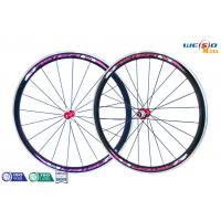 Quality Glossy Surface Alloy 6061 T6 Aluminum Bicycle Wheels , 12 Inch to 22 Inch for sale