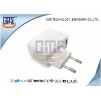 Buy White Universal AC DC Adapter Mobile Phone Adaptor with CE GS Approved at wholesale prices