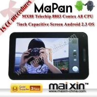 7 inch Telechip8803 Cortex A8 1.2Ghz Google Android 2.3 tablet pc