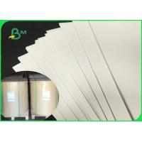Quality FDA 80gsm 90gsm White Durable Craft Paper For Flour Packaging Bag Customized for sale