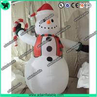 Quality Cute Snowman Inflatable,Snow man Cartoon ,Snow man Mascot, Christmas Decoration for sale