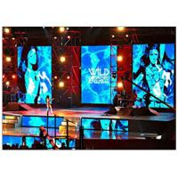 Buy Energy Saving Full Color Indoor LED Video Wall Rental for Stage Background at wholesale prices