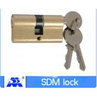 Quality 60mm Cylinder Lock Iron Key Brass Material 60mm-110mm Size ODM Service for sale