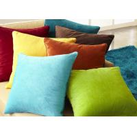 Quality Multiple Colors Elegant Couch Pillow Covers Soft Comfortable For Bed / Car for sale