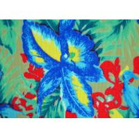 Quality Colorful Patterned Polyester Fabric Non - Flammable Density 72 X 40 for sale