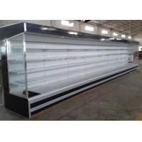 Quality Large Supermarket Project Freezer With Multideck Showcase / Meat Counter for sale