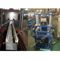 China Metal Rolling Shutter Door Roll Forming Machine 3KW Hydraulic Cutting on sale