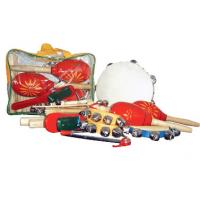 Quality Mini Percussion Kids Musical Instrument Children Wooden Toy Outfit for sale