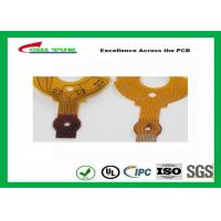 Quality 0.5 Copper Rigid-flexible PCB  5mil PET Material FPC 20*35mm for sale