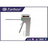 Quality RFID Vertical Tripod Access Control Turnstile Gate Intelligent 3 Arm With Sensor for sale