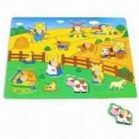 Quality Farm Puzzle with Plywood Material for sale