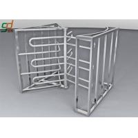 Quality Full Height Turnstile Security Systems, Double Way Access Control Turnstiles Gate for sale