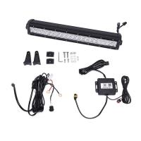 Quality 6000K Dual Row Car Light Bar / Aluminum Housing LED Auto Light Bar for sale