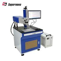 China 3W Optowave UV Laser Marking Machine For Plastic Security Seals / Filter on sale