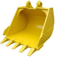 China PC300 excavator bucket standard bucket and rock bucket with volum 0.9 cbm to 5 cbm with different color for choose on sale