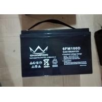 Quality Pure Gel Deep Cycle Lead Acid Battery 12 V 80Ah For Telecommunication for sale
