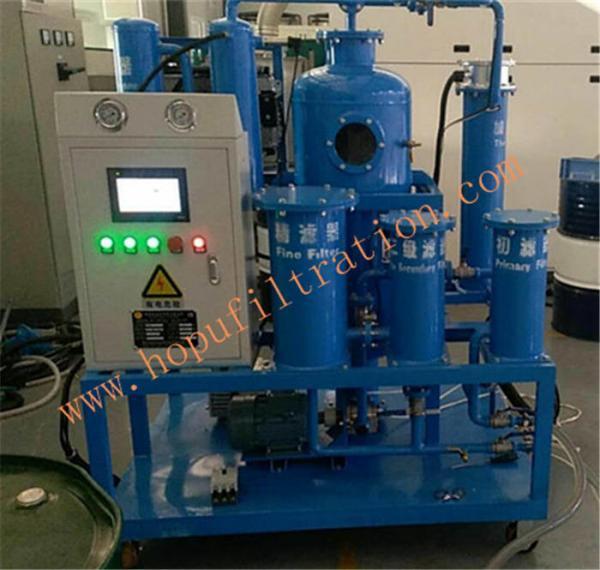 Buy TY Turbine Oil Filtration Plant,PLC turbine oil purifier,Vacuum Lubricant Oil Regeneration Machine,Blue color at wholesale prices