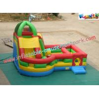 Quality Waterproof Inflatable Bouncer Slide PVC Tarpaulin For Kids With Strong Handles for sale