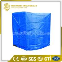 Quality Heavy Duty Poly Pallet Cover Tarp for sale