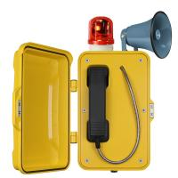 Quality Auto Dial Industrial Weatherproof Telephone Vandal Proof With Broadcast for sale