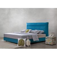 Quality Fabric Upholstered Headboard Bed SOHO Apartment Bedroom interior fitout Leisure Furniture for sale