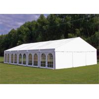 Quality 15x30m Outdoor Event Tents Wooden Floor Air Conditioner For 600 People for sale