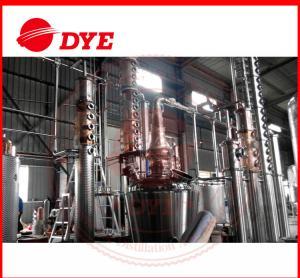 Quality Customized Miniature Copper Distiller Equipment PLC Automatic Control for sale