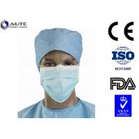 China Full Face Sanitary Designer Surgical Masks , Medical Mouth Cover Silk Like Multi Layers on sale