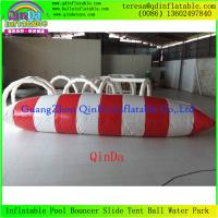 Quality China Wholesale Inflatable Water Jumping Bag Customized Water Sport Game Water Blob for sale