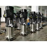 Quality Electrical Vertical Multistage Centrifugal Pump 1 - 1/2 Inch Size 3kW Motor for sale