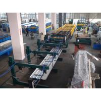 Buy Thin Type Roof Panel Roll Forming Machine , Corrugated Sheet Making Machine Normal Speed at wholesale prices