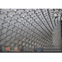 China SUS321 Hexmetal refractory lining | 10mm Depth X 2.0mm Thickness | China Hex metals Exporter on sale
