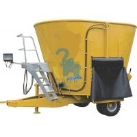 Quality Vertical TMR Feed Mixer Fodder Wagons For Cattle Farm 4pcs Tyres for sale