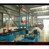Quality Automatic H Beam Assembly Machine With Two Sets Of Co2 Tack Welding 2000mm Web Height for sale