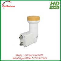 Quality KU Band LNB Dual 0.1dB Universal Linear 2 Port HD Ready Digital Satellite LNBF for sale