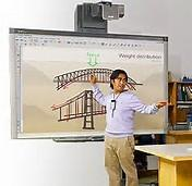 Quality New Interactive Touch Screen Smart Board , ROHS Classroom Interactive Whiteboard for sale