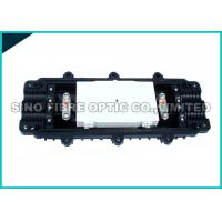 Quality Horizontal Optical Fiber Cable Joint Closure / 4 Trays Fibre Optic Junction Box for sale